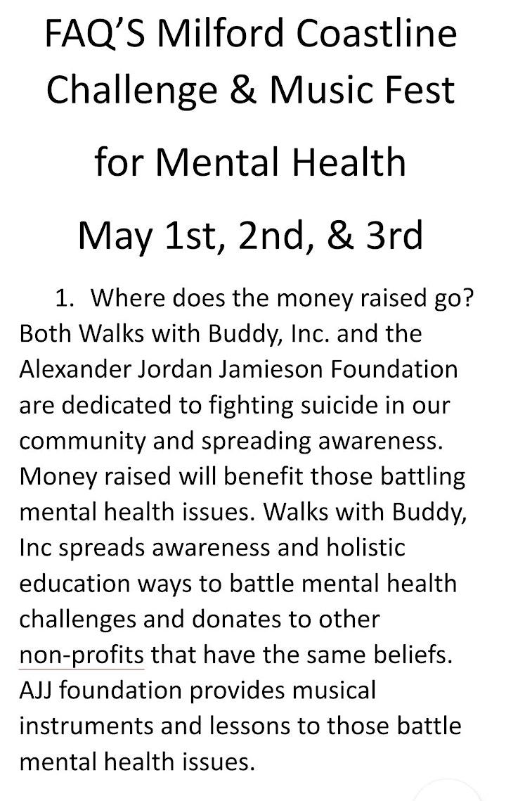 Milford Coastline Challenge & Music Festival for Mental Health image