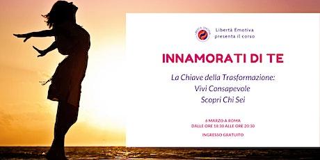 """Presentazione del workshop """"Innamorati di te"""" biglietti"""