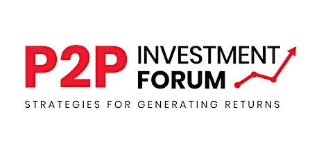 P2P Investment Forum tickets