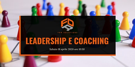 Leadership e coaching biglietti
