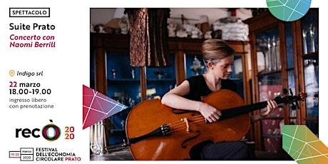 """Naomi Berrill in """"Suite Prato"""" biglietti"""