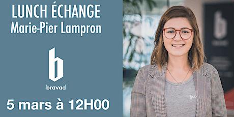 Lunch échange : La gestion des médias sociaux avec Marie-Pierre Lampron billets