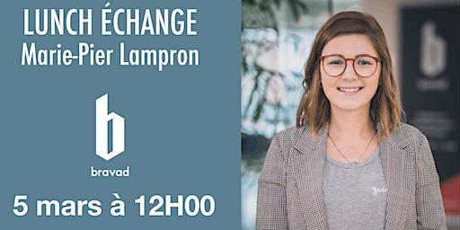 Lunch échange : La gestion des médias sociaux avec Marie-Pierre Lampron