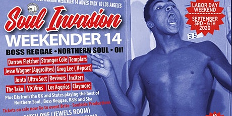 Soul Invasion Weekender - Weekend Pass tickets