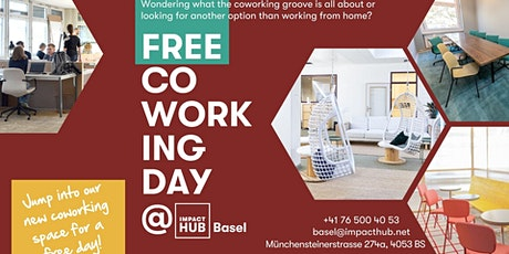 Free Coworking Day! tickets
