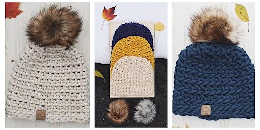 Beginner Crochet Hat Class