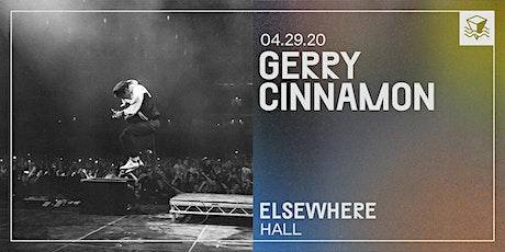 Gerry Cinnamon @ Elsewhere (Hall) tickets