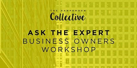 Ask The Expert: Martin Munro - Business Owners' Workshop tickets