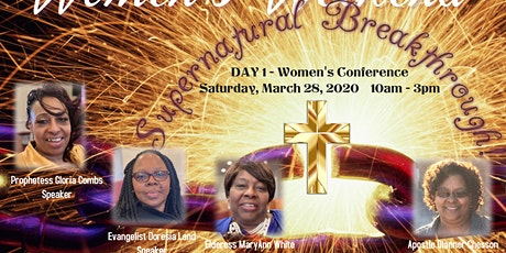 """Broken but Mended"" Women's Conference tickets"