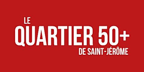 Vente-débarras du Quartier 50+ Réservation table de vente (membres seulement) tickets