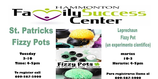 Leprechaun Fizzy Pot (science experiment) FREE