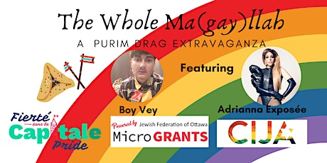 The Whole Ma(gay)llah - A Purim Drag Extravaganza tickets