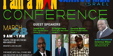 I AM A MAN Men's Conference tickets