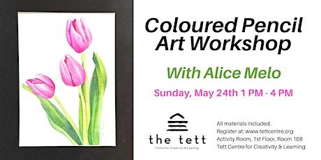 Coloured Pencil Art Workshop tickets