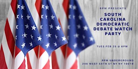 Democratic Debate Viewing Party @ RPM Underground tickets