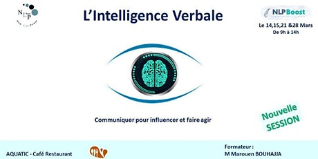 L'Intelligence verbale - Communiquer , faire agir & influencer tickets