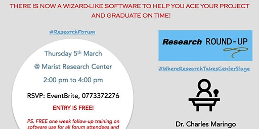 Revolutionary wizard-like software helps you conduct your research project