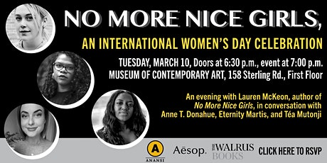 No More Nice Girls, an International Women's Day Celebration tickets