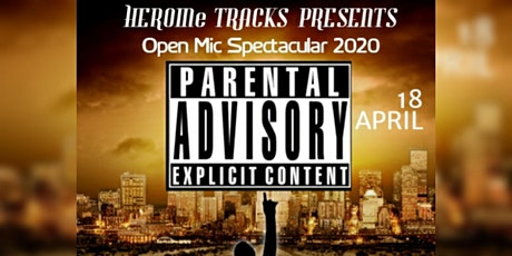 PARENTAL ADVISORY EXPLICIT CONTENT OPEN MIC tickets