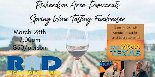 RAD Wine Tasting Spring Fundraiser