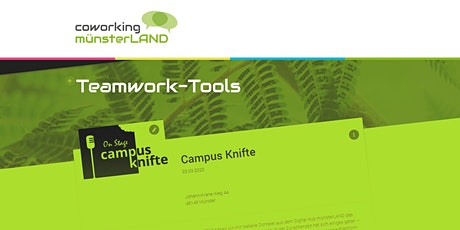 Campus Knifte - Teamwork-Tools Tickets