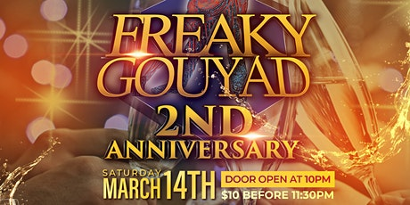 Freaky Gouyad 2nd Anniversary tickets