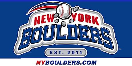 Hillsdale Baseball & Softball Assoc. Night at the New York Boulders tickets