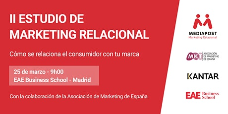 Presentación del II Estudio de Marketing Relacional entradas