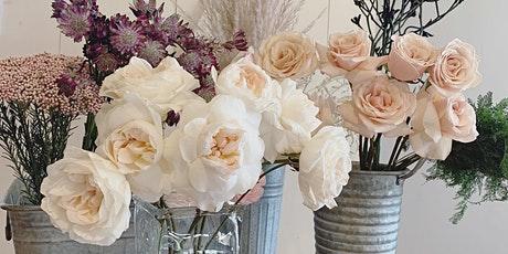Spring Floral Design Workshop w/ Brunette Blossoms* tickets