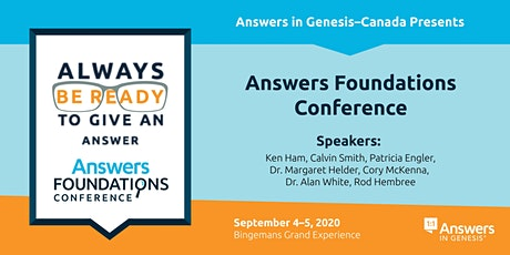Answers Foundations Conference and Concert tickets
