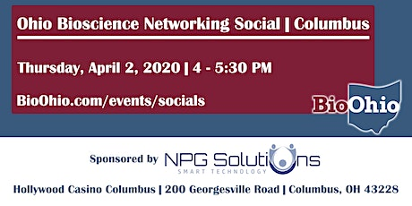 Ohio Bioscience Networking Social tickets