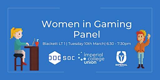 Women in Gaming Panel