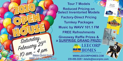LeeCorp Homes 2020 Open House