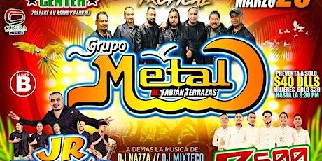 Grupo Metal JR Magallon Ritmo 600 tickets