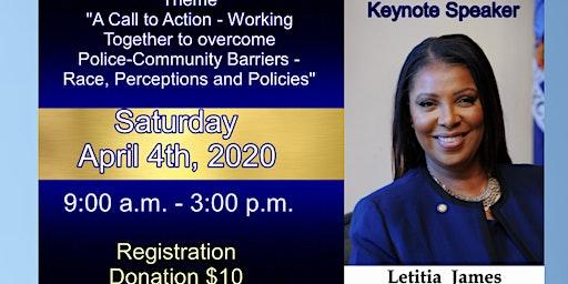 Community-Police Summit w NY Atty Gen Letitia James plus local law enforcement