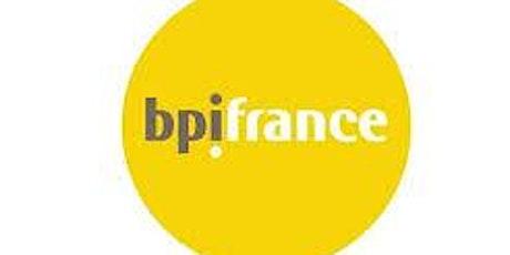 Petit déjeuner et intervention BPI: Financez votre projet billets