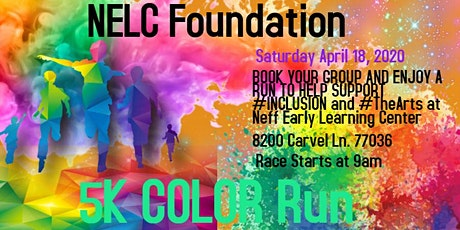 2nd Annual NELC Foundation 5K Color Run tickets