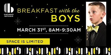 Breakfast With The Boychoir tickets