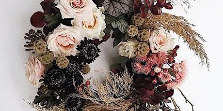 Stylish Flower Wreath Workshop tickets