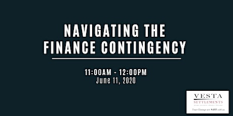 Navigating the Finance Contingency tickets