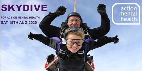Tandem Skydive for Action Mental Health tickets