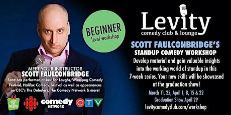 Scott Faulconbridge's Beginner Stand-Up Class tickets
