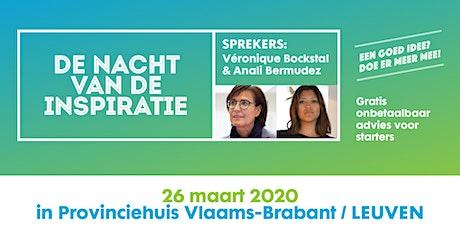 Bizidee Nacht van de Inspiratie - 26.03.2020 Leuven billets
