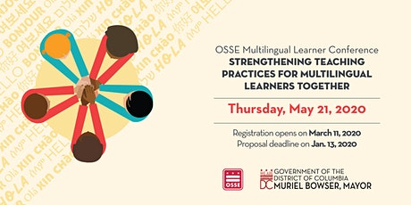 OSSE Multilingual Learner Conference tickets