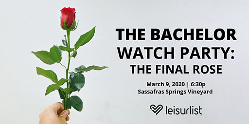 The Bachelor Finale Watch Party