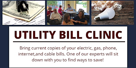 Free Clinic to Reduce Your Utility Bills! tickets
