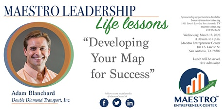 Life Lesson: Developing your Map for Success tickets