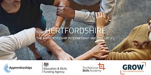 Apprenticeship Intermediary Masterclass: Hertfordshire