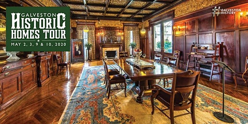 History on Tap at the 1895 Moody Mansion : Galveston Historic Homes Tour
