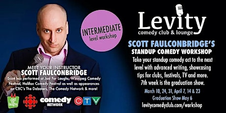 Scott Faulconbridge's Intermediate Stand-Up Class tickets